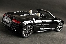 1/18 Kyosho Audi R8 V10 FSI 5.2 Spyder Suzuka Grey, Phantom Black, Daytona Grey, Red, Silver, Blue