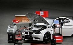 1/18 TSM Snap On style Garage Professional Tool Set Diorama Shop Essentials+  Kyosho BMW E92 M3 GTS White Value Pack