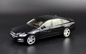 1/18 CSM Volvo S90 T5 2016 Black White Dealer Edition