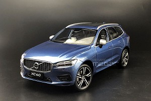1/18 All New Volvo XC60 2017 Blue Dealer Edition
