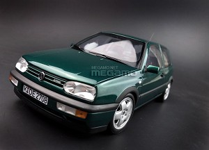 1/18 Norev Volkswagen VW Golf VR6 MK3 1996 Green Full Open Diecast