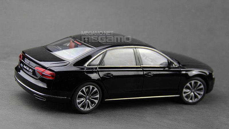 1 18 Kyosho 2014 Audi A8l W12 D4 3rd Gen A8 L Phantom Black