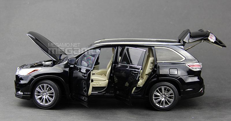 2014 Highlander For Sale >> 1/18 Toyota 2015 Highlander Dealer Ed 8 Seats Black White Red