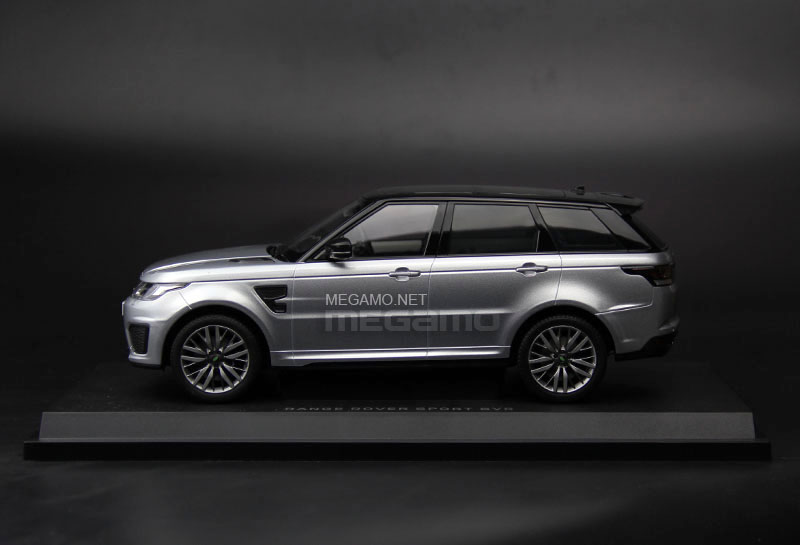 Range Rover Svr For Sale >> 1/18 Kyosho Range Rover Sport SVR Estoril Blue Indus Silver Closed Bodyshell