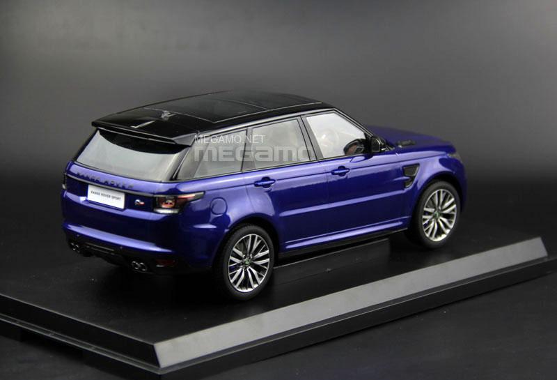 1 18 Kyosho Range Rover Sport Svr Estoril Blue Indus