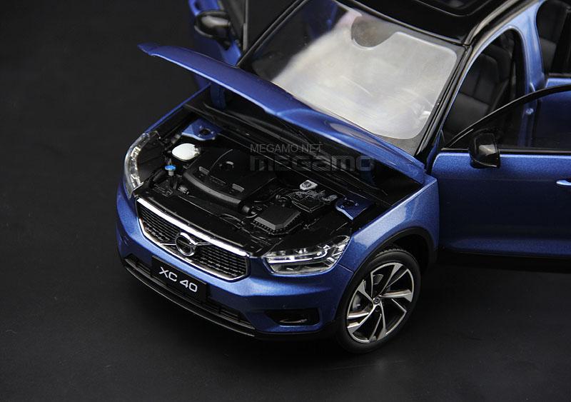 1 18 All New 2017 Volvo Xc40 T5 R Design White Blue R
