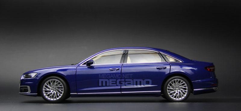 1 18 Norev 2017 All New Audi A8l D5 4th Gen A8 L Blue