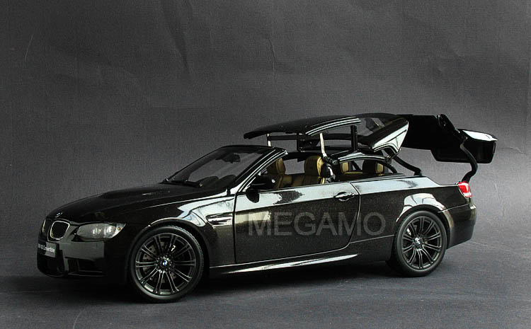 BMW 335I Convertible >> 1/18 Kyosho BMW e93 M3 Convertible Black Working Hard Top ...