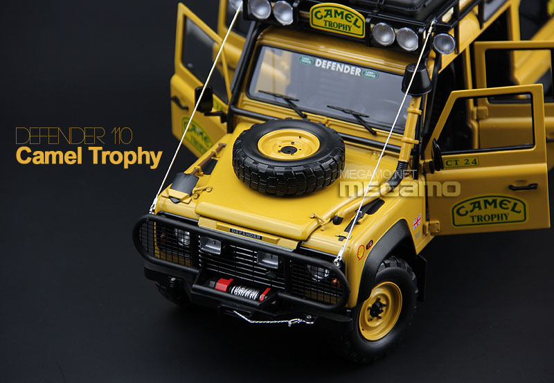 1 18 Almost Real Land Rover Defender 90 110 Camel Trophy