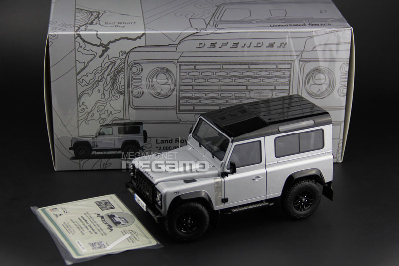 1 18 Almost Real Land Rover D90 Defender 90 2k Pcs Edition