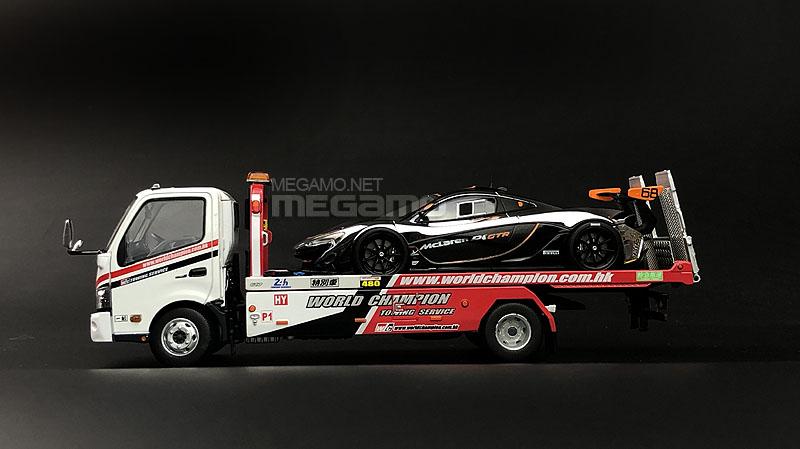 1 43 Tiny Hino 300 Hk World Champion Flatbed Tow Truck Diecast Model 4895135138614 Ebay