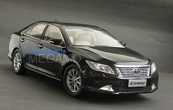 1/18 Toyota Camry 2011 Black Dealer Ed 7th Generation