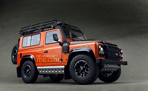 1/18 Kyosho Land Rover Defender 90 D90 Orange Adventure Edition