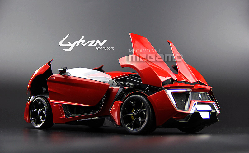 Lykan Hyper Sport >> 1/18 Autocraft WMOTORS LYKAN HyperSport red Diecast Full Open model