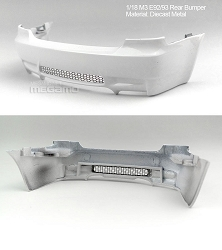 1/18 Kyosho BMW M3 spare parts for e92 e93 turning - Rear Bumper