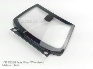 1/18 Kyosho BMW M3 spare parts for e92 e93 Coupe turning - Front windshield
