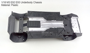 1/18 Kyosho BMW M3 spare parts for e92 e93 turning - Underbody Chassis