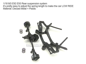 1/18 Kyosho BMW M3 spare parts for e90 e91 e92 e93 turning - Rear Suspension Axles