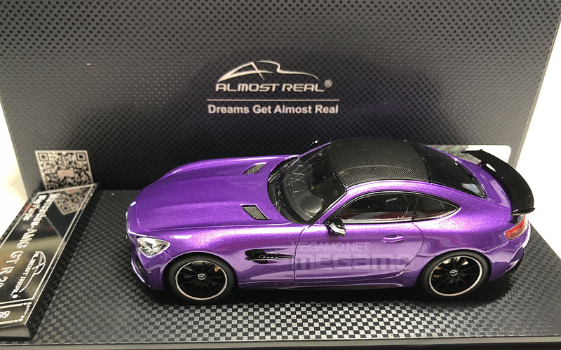 Mercedes Gtr Amg >> 1/43 Almost Real Mercedes-Benz AMG GT-R GTR Red Yellow ...