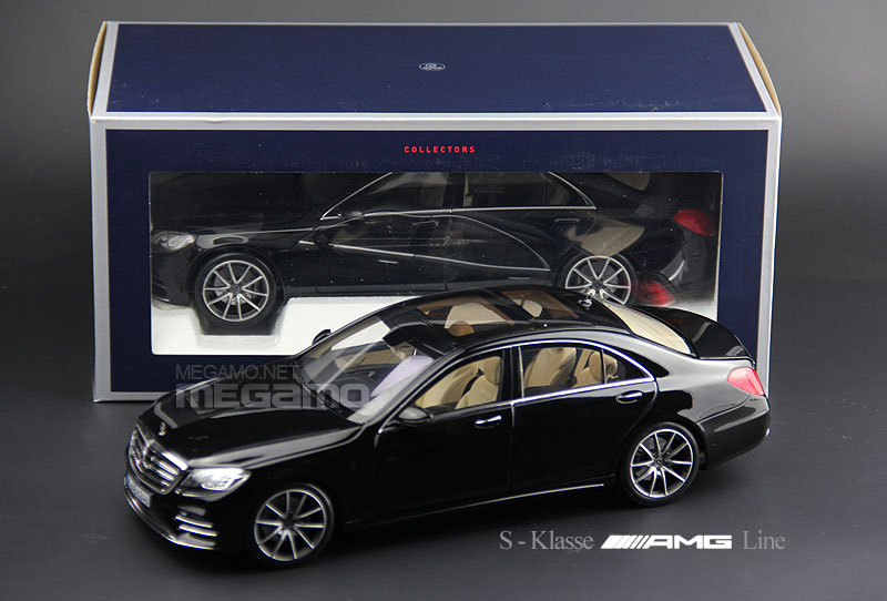Awesome 1 18 Norev Mercedes Benz W222 S Class Amg Line 2018 Black Door Handles Collection Olytizonderlifede