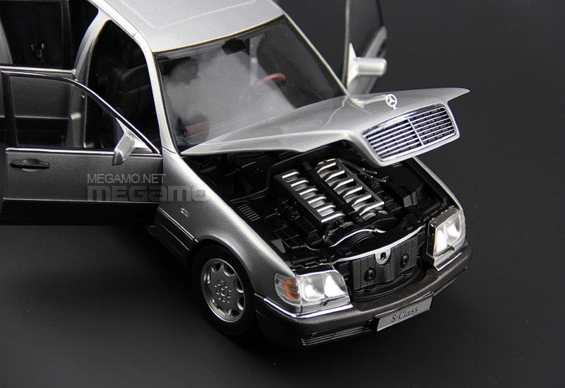 1 18 Norev Mercedes Benz S600 W140 V12 Silver Dark Gray