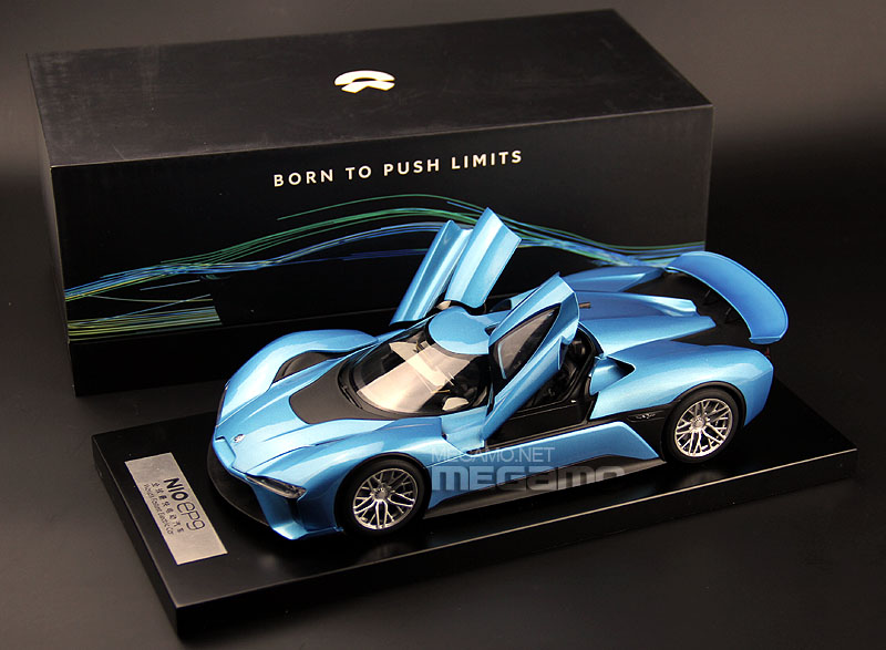 1 18 Nio Ep9 World S Fastest Electric Car Diecast Blue