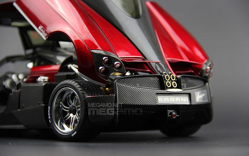 1 18 Gt Autos Gta Pagani Huayra Met Red Special Color
