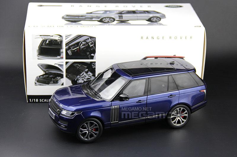 Range Rover Sport For Sale >> 1/18 LCD Range Rover SV Autobiography Dynamic 2017 SVA Black White Diecast Full Open