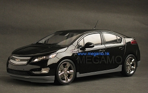 1/18 Gaincorp GM Chevrolet Chevy VOLT Electric 2012 Black