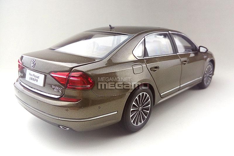 1 18 Volkswagen Passat B7 Brown Bronze 2016 Lci Facelift 330 Tsi Faw Vw Dealer