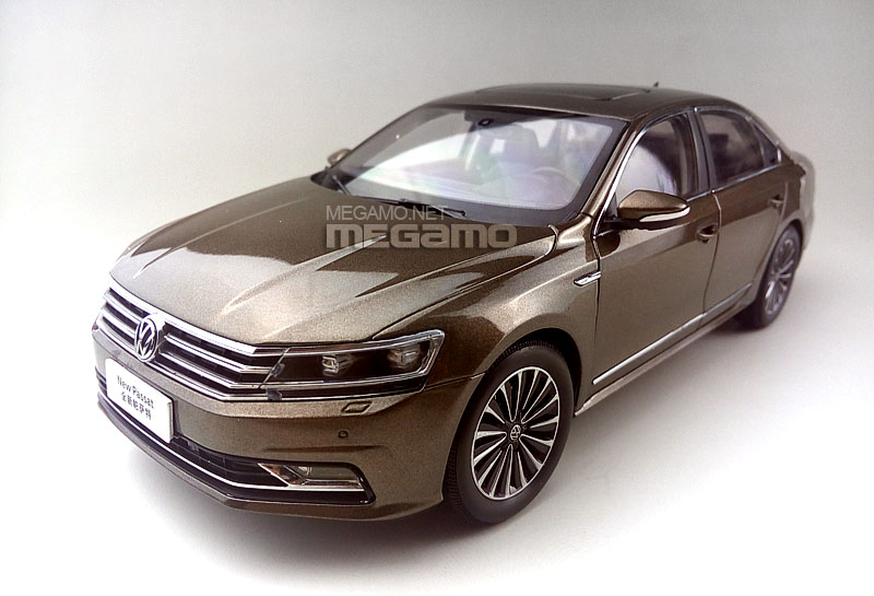 1 18 Volkswagen Passat B7 Brown Bronze 2016 Lci Facelift