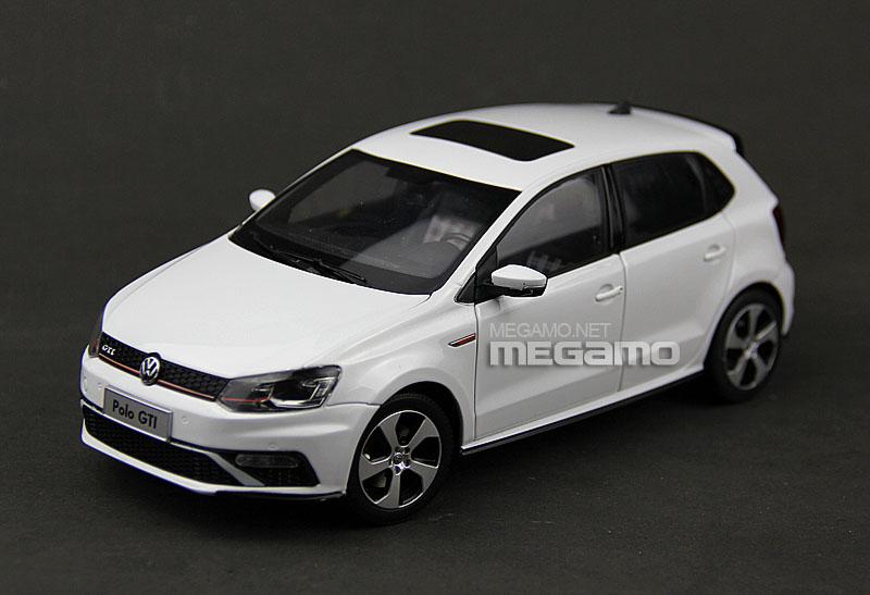 1 18 Volkswagen Vw New Polo Gti 2015 White Cn Dealer Ebay