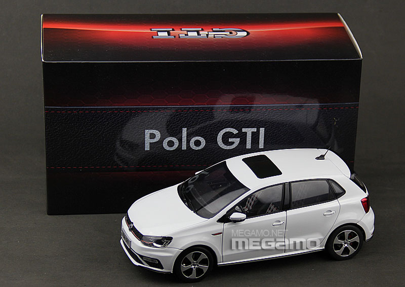 1 18 Volkswagen Vw New Polo Gti 2015 White Cn Dealer