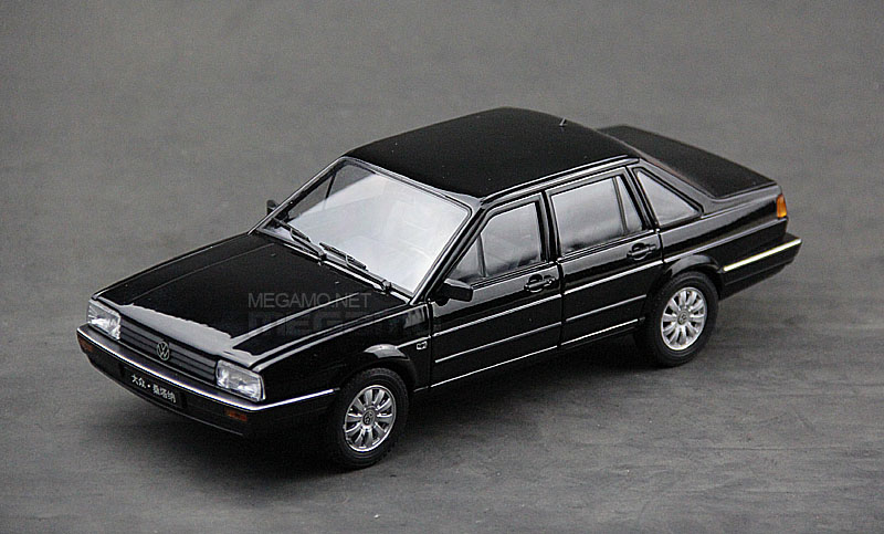 1 18 Fx Volkswagen Vw Passat B2 Santana 1980 Black White Welly