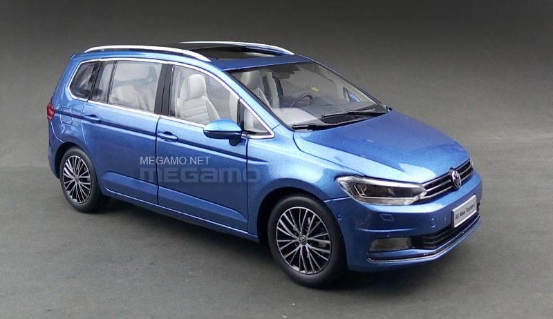1 18 Volkswagen All New Touran 2016 Blue 330 Tsi Shanghai
